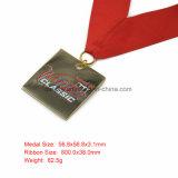 De Medailles van de Concurrentie van de douane met Embleem en Sleutelkoorden