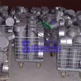 Máquina do carvão amassado do Swarf do ferro com certificado do Ce