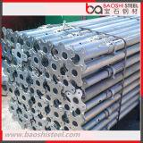 Apoyo de acero de Ajustable de la construcción del polvo del apuntalamiento revestido del andamio