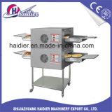 Double prix électrique commercial de Machice de boulangerie de four de pizza de convoyeur