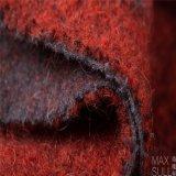 Mohair /Cotton/tessuto Mixed di nylon lane del poliestere/delle lane nel colore rosso