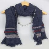 女の子の余暇のショールのための中国のファッション小物の印刷のスカーフ