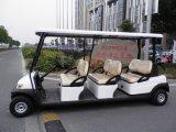 6 Seater elektrisches besichtigenauto für Fremdenverkehrsort