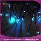 cable óptico de la fibra liviana del extremo del diámetro PMMA de 2700m/Roll 0.75m m