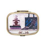 卸し売り安い記念品の小型丸薬ボックス鉛1029d