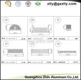 L'alluminio del pettine del materiale da costruzione profila il radiatore
