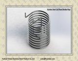 Pipe de spirale d'échangeur de chaleur d'acier inoxydable d'ASTM A249
