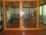 Porte en bois d'Aluminuim du plus défunt modèle