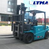 Carrello elevatore elettrico del carrello elevatore 4t della Cina con l'albero in due tappe