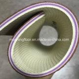 крен винила пола спортов теннисного корта PVC 6.2mm толщиной мягкий зеленый лидирующий