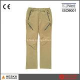 Pantaloni casuali di Softshell dei pantaloni lunghi delle donne esterne