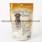 Stand up Ziplock Sac en plastique d'emballage pour Pet / Cat / Dog / Bird Food