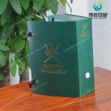 Het aangepaste Hete het Stempelen Buitensporige Document van de Druk/Vakje van de Gift van pvc het Verpakkende