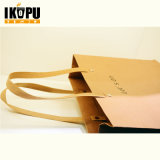 Sacos de presente de papel personalizados com alça para compras de embalagens de alimentos