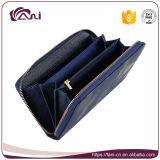 Бумажник самой последней конструкции длинний, женщины бумажник, бумажник печати портмона бумажника застежка-молнии