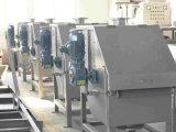 Het Systeem van de Reiniging van het water voor de Filter van de Trommel in de Installatie van het Voedsel en van de Drank