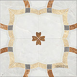 Azulejo de suelo de cerámica por completo esmaltado de mármol de la porcelana Polished