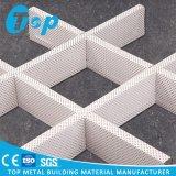 Металл пефорировал потолок клетки алюминия открытый для зданий Commerical