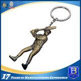 Personalizzato completa 3D Giocatore di baseball in metallo portachiavi (Ele-K036)