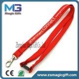 Bon marché des différents accessoires colorés personnalisé de haute qualité polyester imprimé du tube de longe de sécurité
