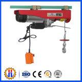 Treuil électrique portatif d'élévateur de câble métallique avec le contrôleur éloigné 300kg