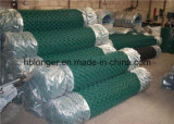 Покрынная PVC ячеистая сеть утюга звена цепи/гальванизированное плетение провода