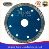 Scherp Hulpmiddel 105mm het Gesinterde TurboBlad van de Zaag voor Graniet