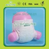 Couches remplaçables de couche-culotte de bébé de sensation grande de coton et d'absorptivité élevée