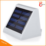 Ao ar livre Waterproof a lâmpada solar leve psta solar da segurança do jardim da cerca de 4 escadas do diodo emissor de luz