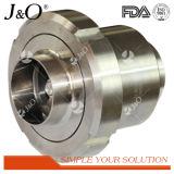 Válvula de verificação sanitária da união do aço inoxidável