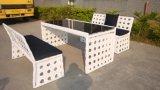 Jeu de table/ moderne de plein air table aluminium Set (SC-A7351)