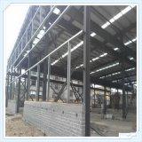 Marco de acero prefabricado ligero de Q235 Q345 para el taller
