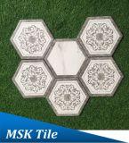 Hexagon-Porzellan Floor&Wall Fliese Kpya23009q-W2