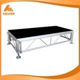 調節可能な屋外の1.6-2.0mの高さの鋼鉄段階システム