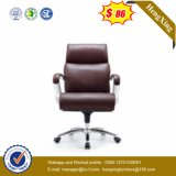 인간 환경 공학 높은 뒤 가죽 행정상 두목 사무실 의자 (HX-NH001)