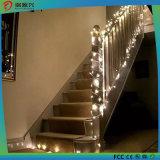 Luz da corda do diodo emissor de luz da decoração do festival do banquete de casamento do OEM