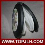Custom Print Sublimation Aluminium Insert de feuille Boîte en plastique CD