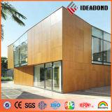 El panel compuesto de aluminio de madera exterior con la alta calidad (AE-308)