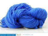 Lavoro a maglia del filato fantasia peloso di miscela di nylon acrilica
