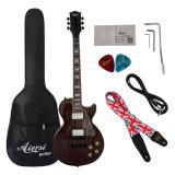 Guitarra elétrica do Lp do Zebrawood contínuo por atacado novo