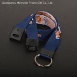 für Personal-kundenspezifische weiche und haltbare blaue Abzuglinien des Polyester-20mm