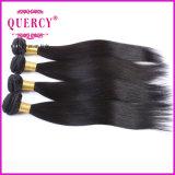 加工されていないバージンのマレーシアの高品質8Aの直毛の織り方の束