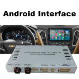 Navigation du véhicule GPS pour VW Passat Golf7, surface adjacente visuelle androïde