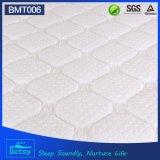 Colchão de cama resiliente OEM de 27cm de altura com 5 Spring de bolso de zona e Design de almofada de luxo Deluxe