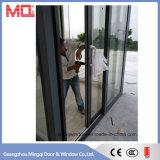 Porte coulissante en aluminium de garage pour la vente