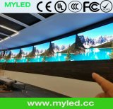 Visualización de alquiler de interior del LED