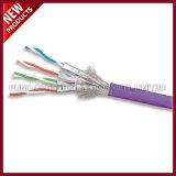 Cable de Ethernet a granel sólido frustrado blindado Cat7 del LAN de SFTP