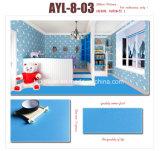 Colorés durables imperméabilisent le plancher en stratifié de PVC