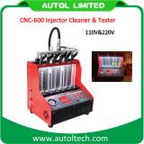 2016 Testeur de produit nettoyant injecteur & CNC600 pour tester et nettoyer les injecteurs sur les voitures à essence le nettoyage à ultrasons