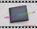 RFID преграждая бумажник с неподдельной Split кожей для людей